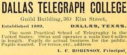 dallas_telegraph_college