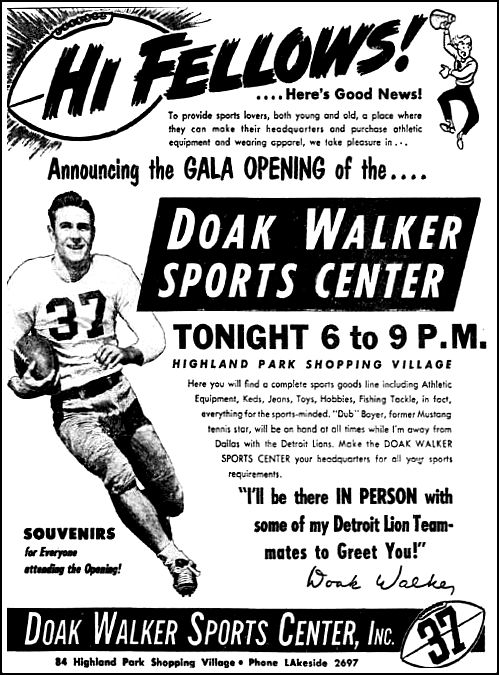 doak-walker_sports-ctr_opening_dmn_082351