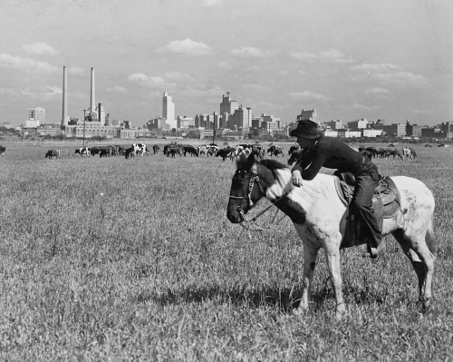 langley_skyline-horseback_c1945_LOC