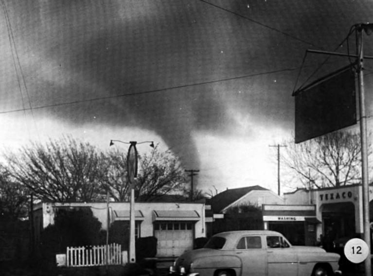 Tornado As Learning Tool 1957 Flashback Dallas