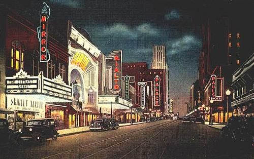 theater-row-night_c1935