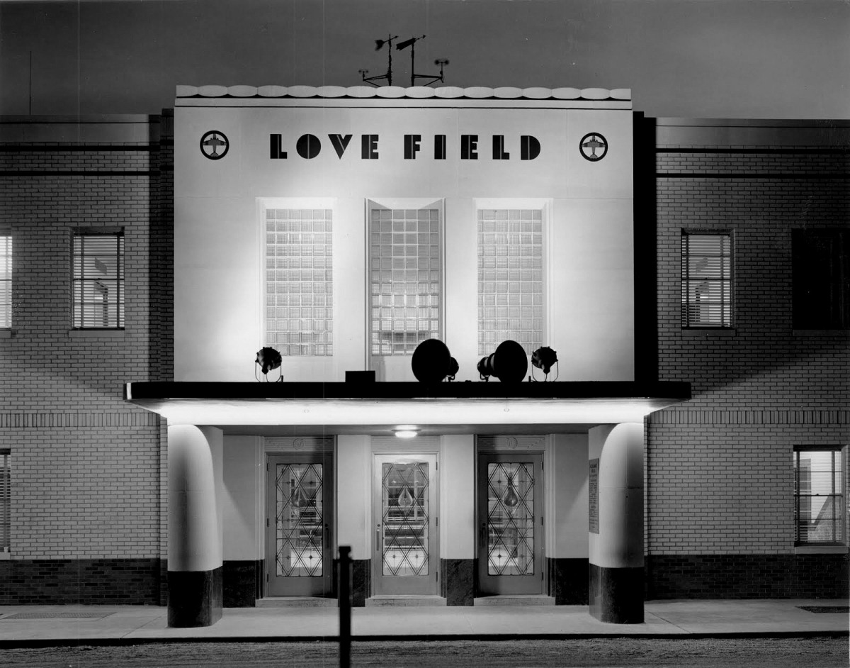 Swooning Over Love Field 1940 Flashback Dallas