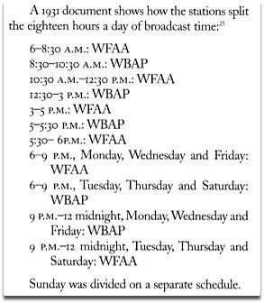 wfaa-wbap_schedule
