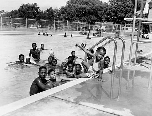 Exline Park Swimming Pool 1950s Flashback Dallas