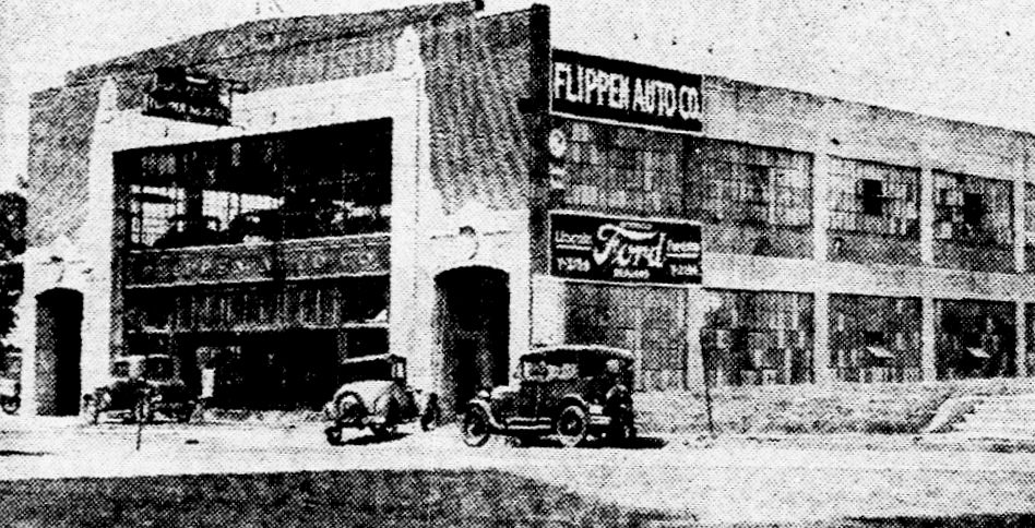 Ford Dealerships In Houston >> Dallas' Ford Dealerships in the 1920s: Authorized for Your ...
