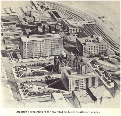 courthouse-complex_tinkle_key-to-dallas_1965-drawing