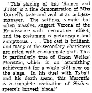 orson-welles_review-by-charles-collins_chicago-tribune_1933