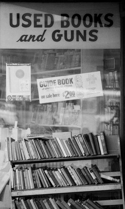 used-books-guns
