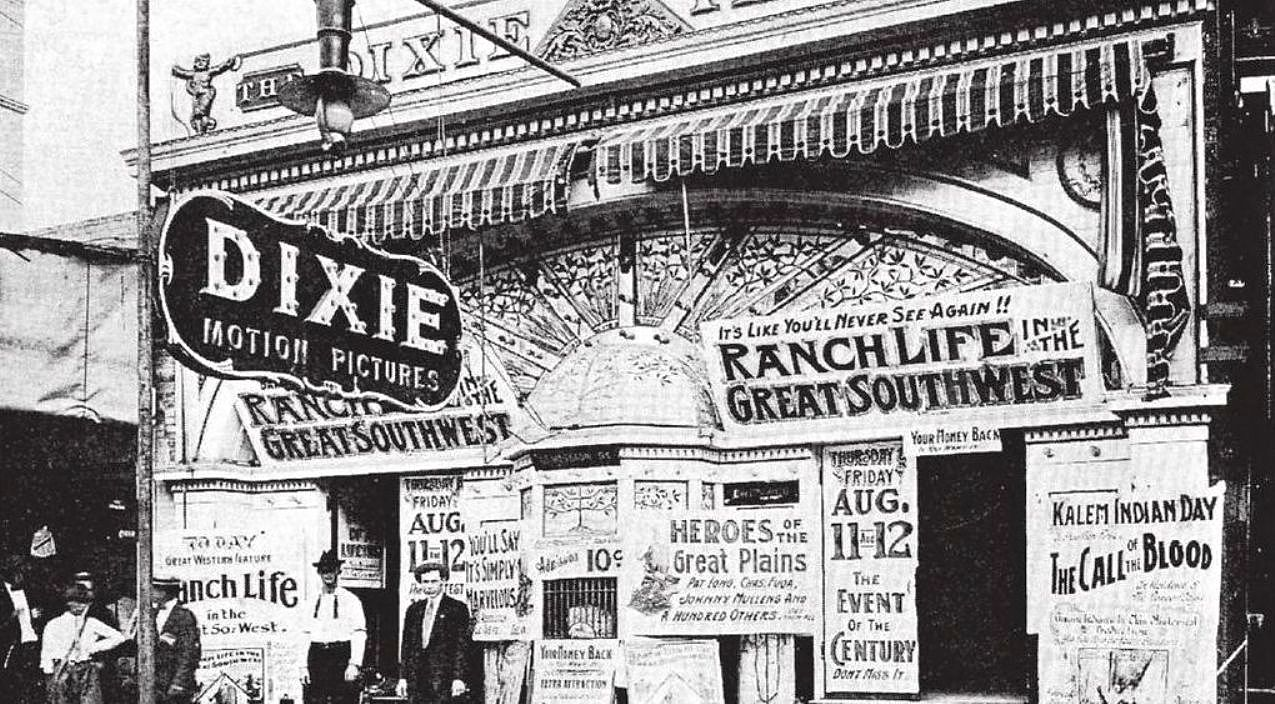 """Three of Dallas' Earliest """"Photoplay Houses"""" — 1906-1913"""