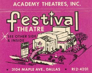 festival-theatre_cook-collection_degolyer_smu_matchbook-cover