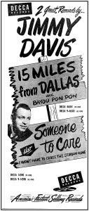 jimmie-davis_15-miles-from-dallas_1951_ebay