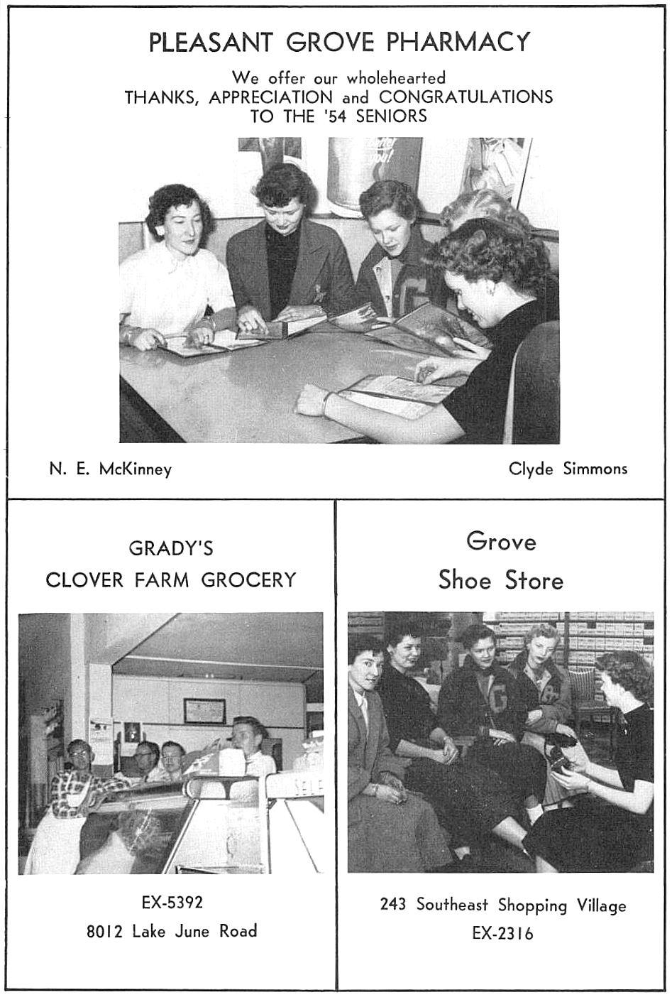 Life in The Grove: Pleasant Grove — 1954-1956 | Flashback