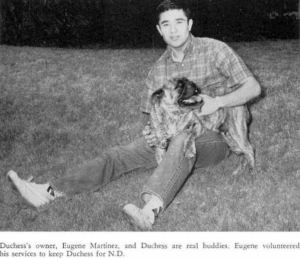 1962_duchess-the-mascot_ndhs_1962-yrbk-photo
