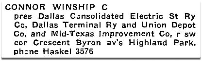 The House at Crescent & Byron, Highland Park | Flashback : Dallas