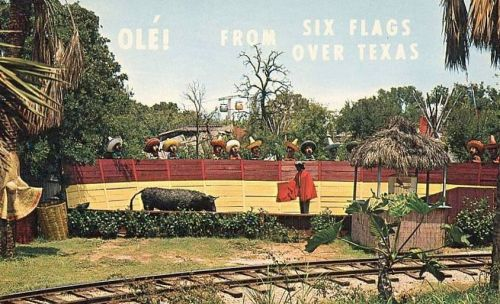 six-flags_mexican-section_bull-fight