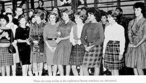sophomore-girls_ndhs_1963-yrbk