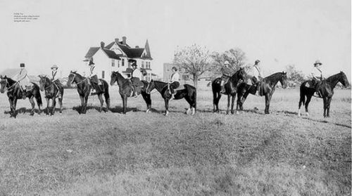 hockaday_greenville-belmont_1920s_horses