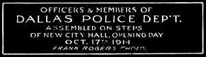 dallas-police-dept_frank-rogers_101714_cook-colln_degolyer_smu