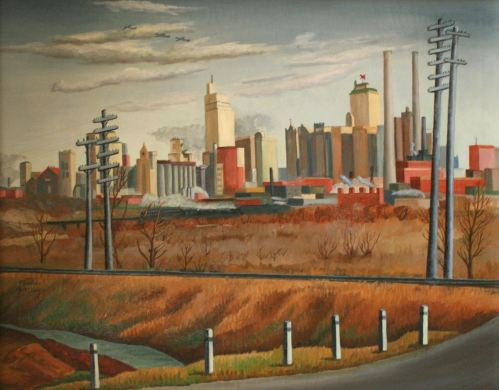 mcclung_dallas-cityscape_1941_kever-collection