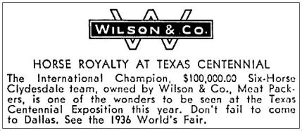 wilson-co_clydesdales_1936_ebay_back