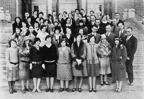 sunset-high-school_1929_faculty