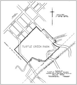 reverchon-park_turtle-creek-park_map_1914-15