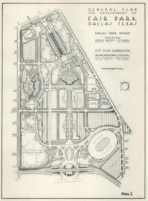 fair-park-redevelopment_bartholomew-plan-1945