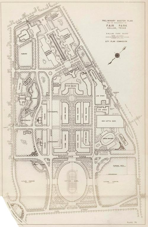 fair-park_preliminary-plan_bartholomew-1946