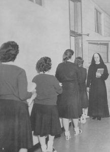 OLGC_1960-yrbk_hallway
