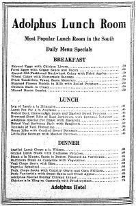 adolphus_lunch-room_menu_dec-1919