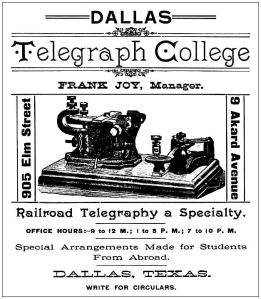 dallas-telegraph-college_1889-directory