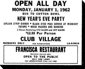 club-village_francisca_new-years-eve_dec-1961