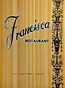 francisca-restaurant_menu_1961_ebay