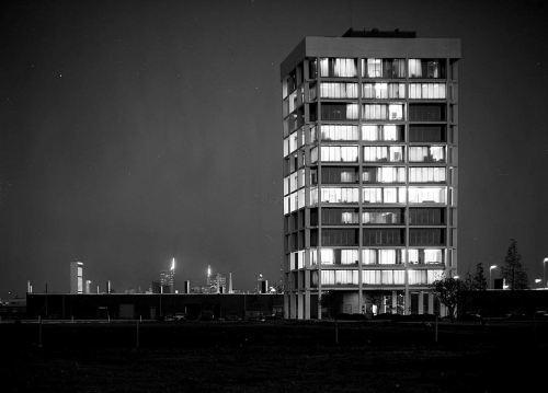 stemmons-tower_night_squire-haskins_041963_UTA