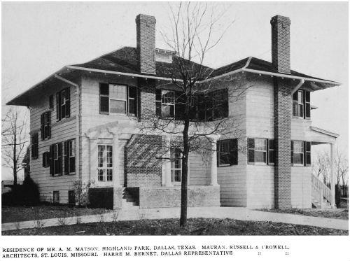 matson-a-m_house_highland-park_western-architect_july-1914_back