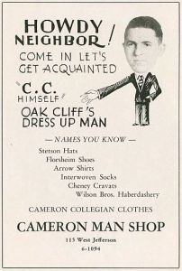 camerons-mans-shop_ad_OC-city-within-a-city_ca_1929_SMU