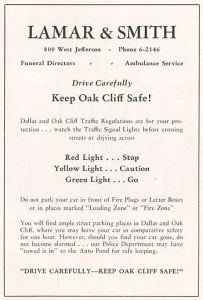 lamar-and-smith_ambulance_funeral-directors_ad_OC-city-within-a-city_ca-1929_SMU
