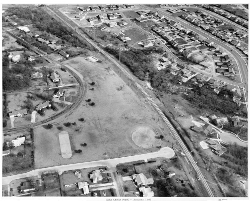 casa-linda-park_aerial_baseball-diamond_squire-haskins_jan-1966_dallas-municipal-archives_portal