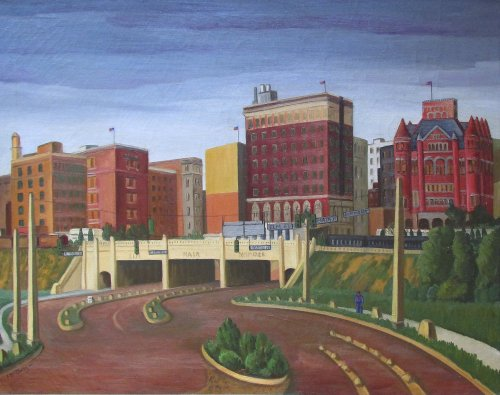 mcclung_triple-underpass_1945_david-dike-fine-art