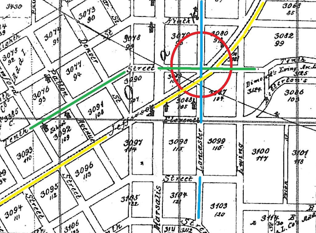 Greater Dallas Map.Streetcars Flashback Dallas