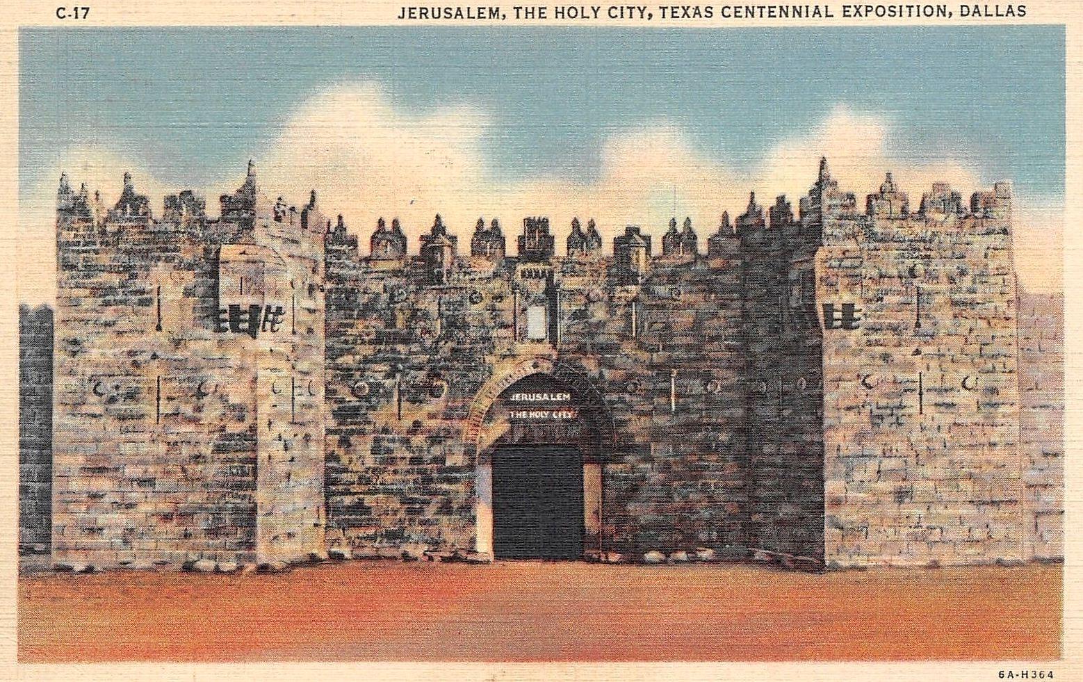 tx-centennial_jerusalem-the-holy-city_postcard
