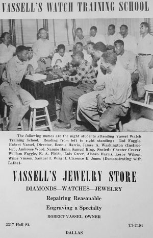 vassells-watch-training-school_negro-directory_1947
