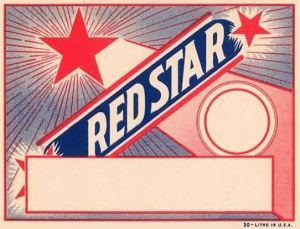 red-star-broom-label