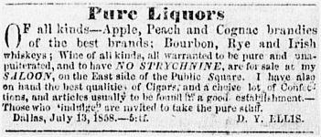 pure-liquors_no-strychnine_dallas-herald_1858