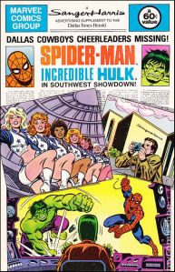 football_cowboys_comic_spider-man_hulk_cheerleaders_1981