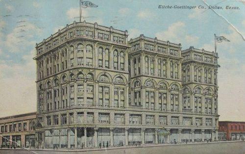 titche-goettinger_wilson-bldg_postcard_postmarked-1912