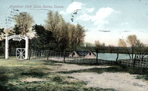 highland-park-lake_postcard