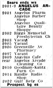angelus-arcade_greenville-ave_1927-directory