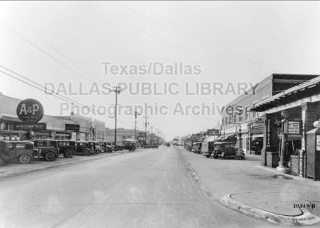 greenville-ave_south-from-sears_bud-biggs-collection_1930_DPL