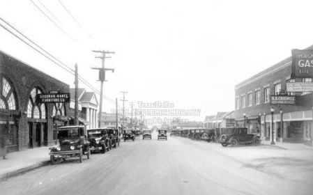 greenville-ave_south-from-sears_frank-rogers_1927_DPL